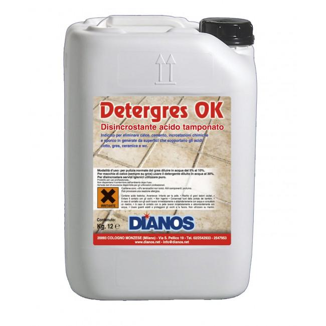 Detergres OK - Disincrostante acido fosforico tamponato esente da fumi Image