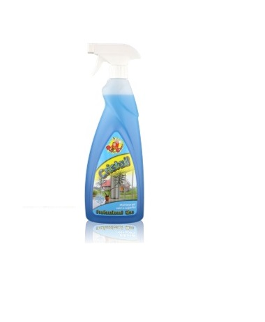 Cristall - pronto uso ammoniacale per la pulizia rapida di superfici in vetro Image