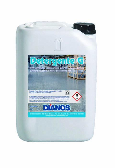 Detergente G - Detergente alcalino per la pulizia di fondo di pavimenti e superfici dure Image