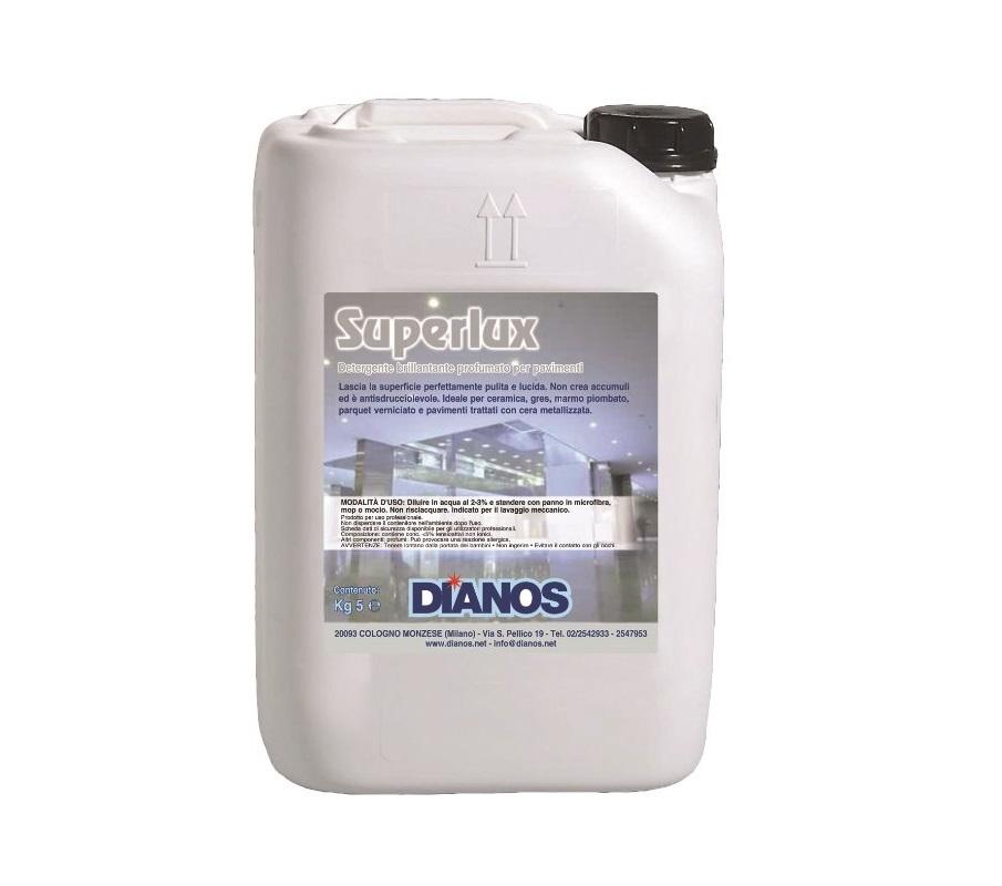 Super lux - Detergente per pavimenti autolucidante ideale su pavimenti trattati con cera metallizzata Image