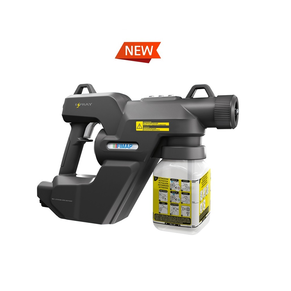 E-Spray - Nebulizzatore a pistola alimentato a batteria Image