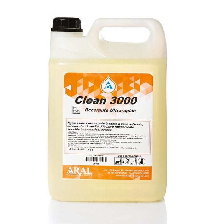 Clean 3000 - Decerante ultrarapido fortemente alcalino con solventi Image