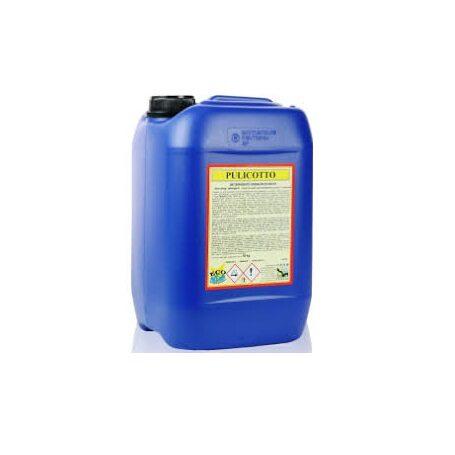 Pulicotto - Detergente disincrostante a base di acido cloridrico tamponato per la pulizia e l'asportazione di calcare e residui minerali Image