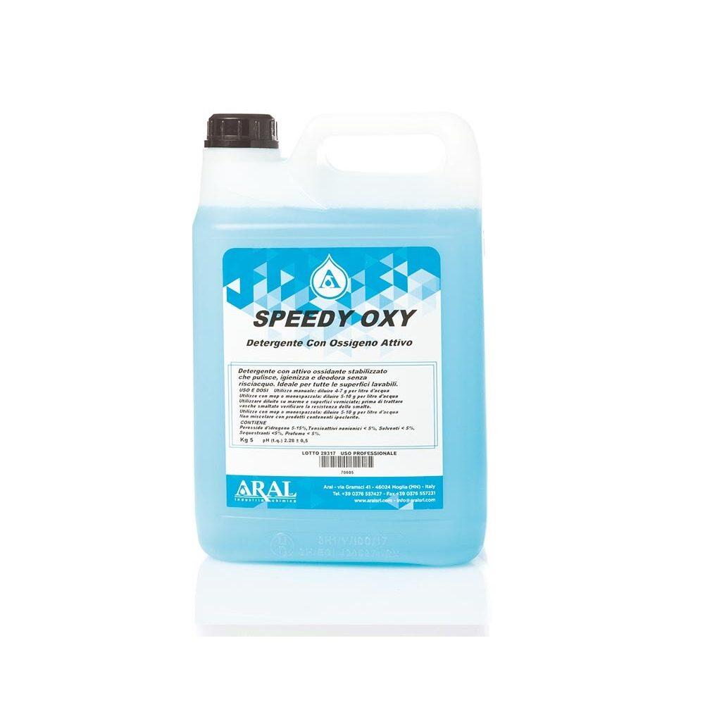 Speedy Oxy - Detergente igienizzante all'ossigeno attivo, deodorante e senza risciacquo. Image