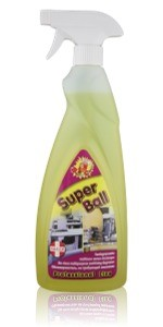 Superball - Spray pronto uso ad effetto sgrassante per tutte le superfici lavabili Image