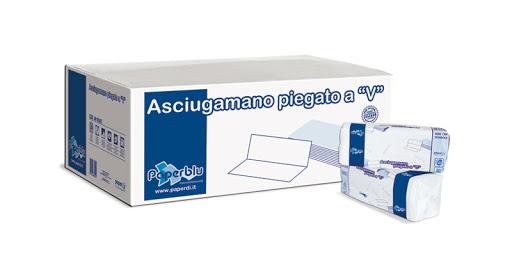 Asciugamani in Carta Ripiegati a V Image